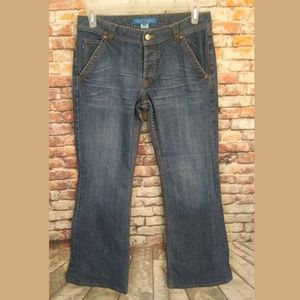 French Connection FCUK Jeans with rainbow pockets
